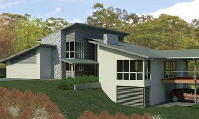 17 Amazing Split Level House Designs - House Plans | 80681