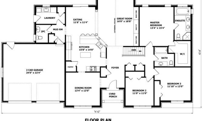Contemporary House Design Plan Has Unusual Timber Frame Floor