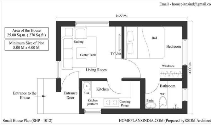 Free floor plan indian house