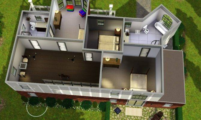 Simple Sims 3 House Layouts Placement - House Plans | 84894