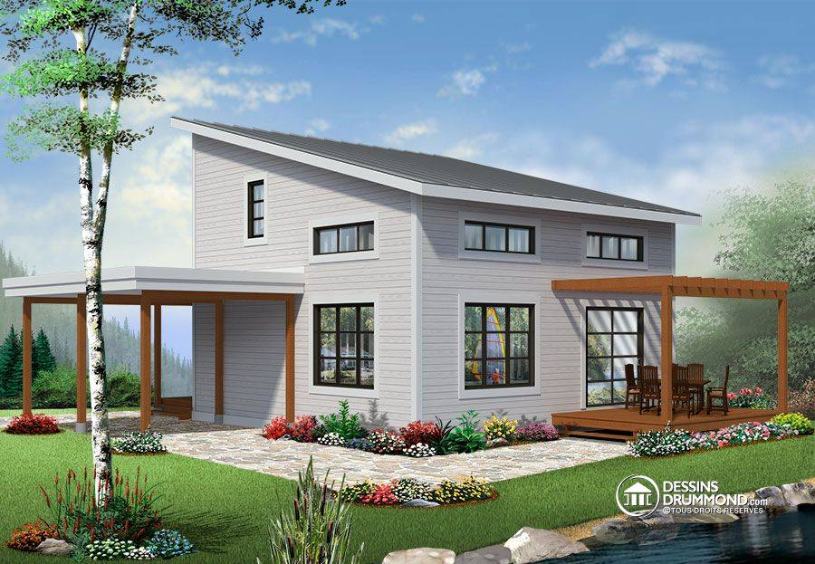 Home Plans With Cost To Build. Cottage 3 House Plan Cost To Build