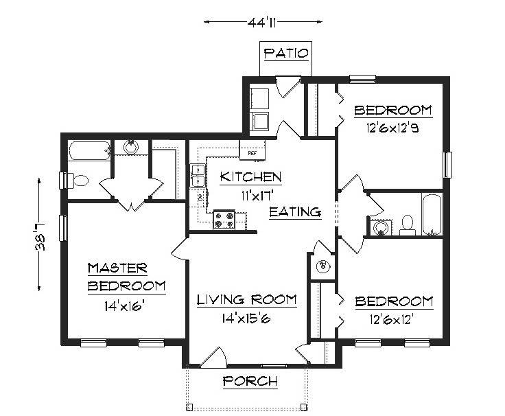 Basic home building plans  Construction Skills