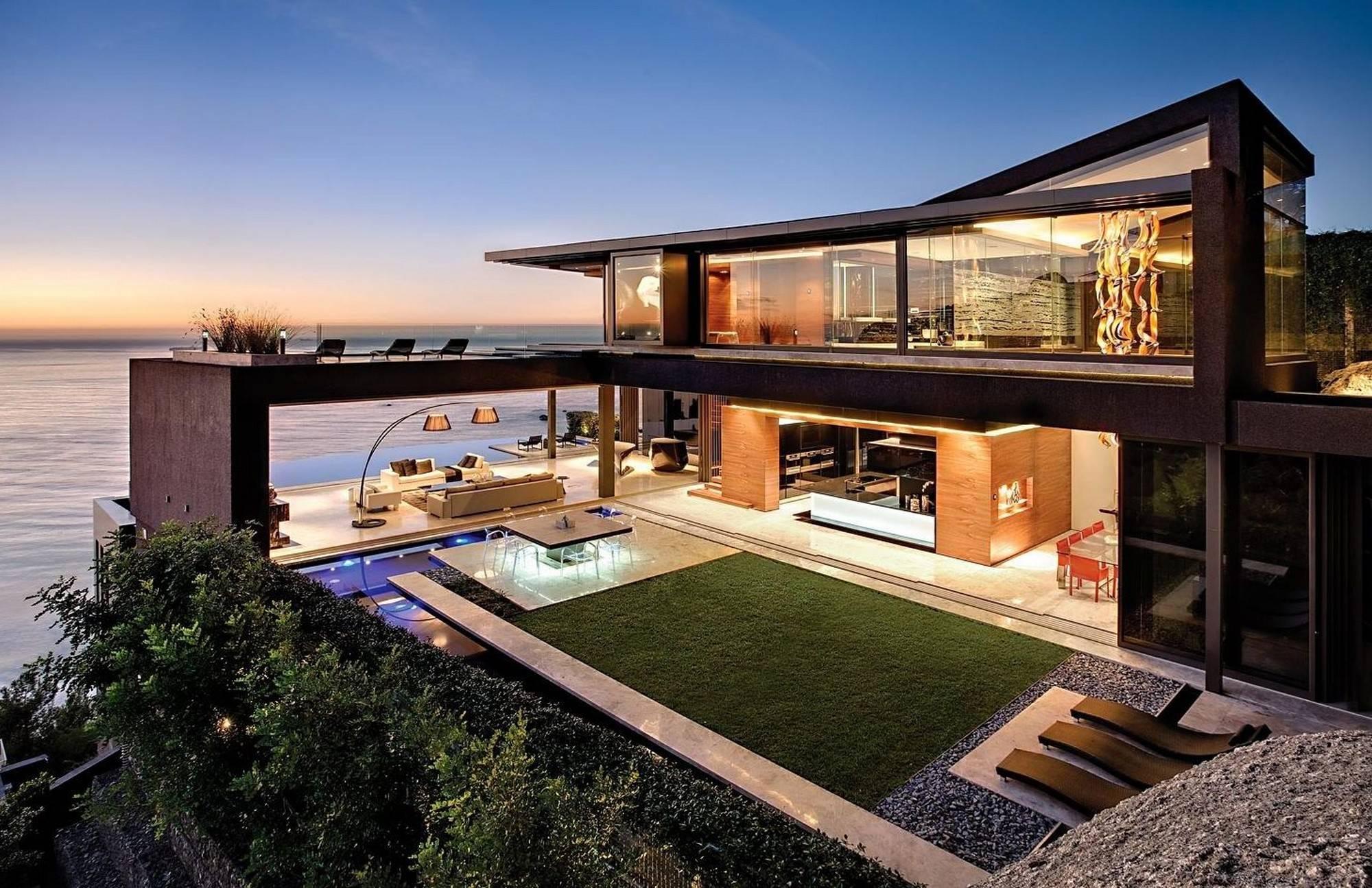 House luxury beach home designs courtyards design