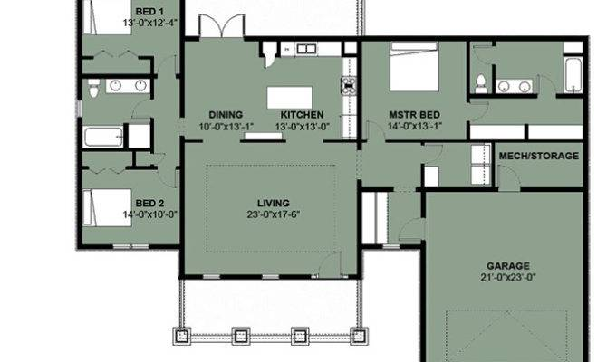 three bedroom house plans in the caribbean house plans On 3 bedroom caribbean house plans