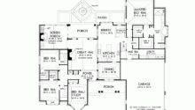 House Plan Elegant Open Floor Square Feet Bedrooms