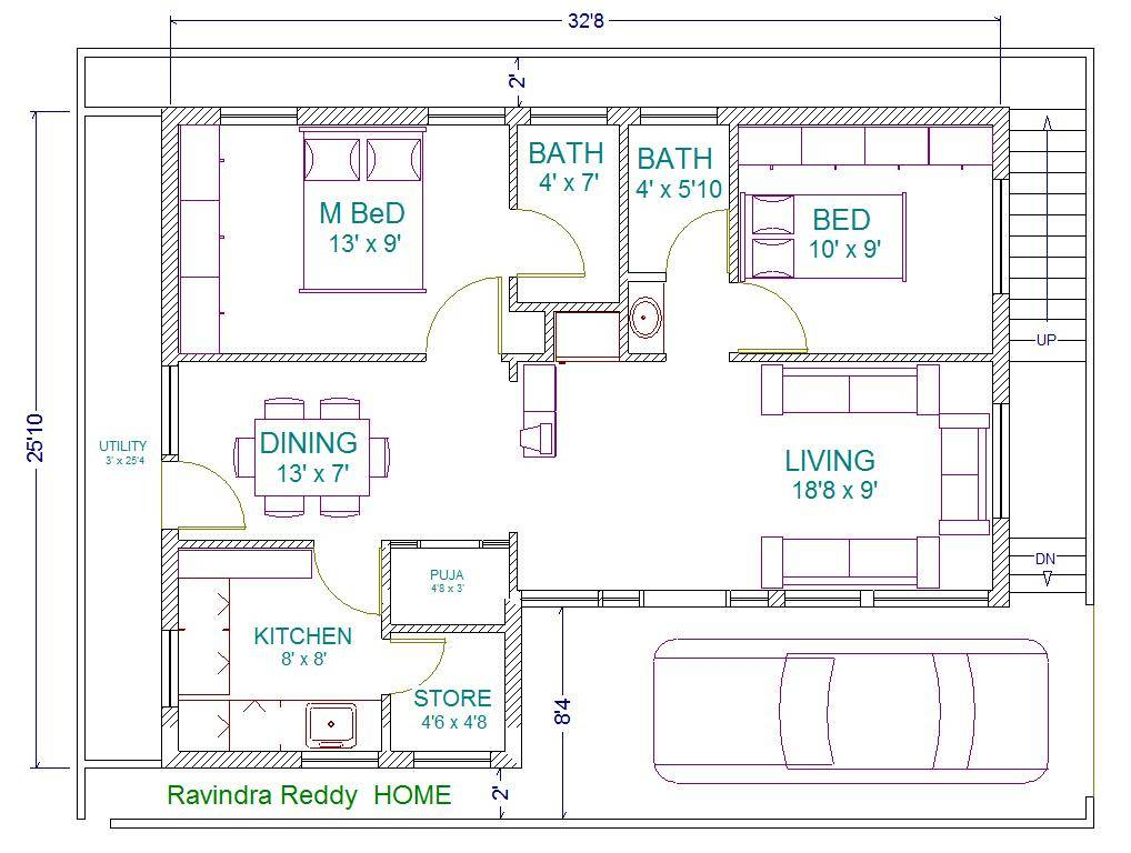Beautiful 30 40 Site Duplex House Plan Contemporary - Best image ...