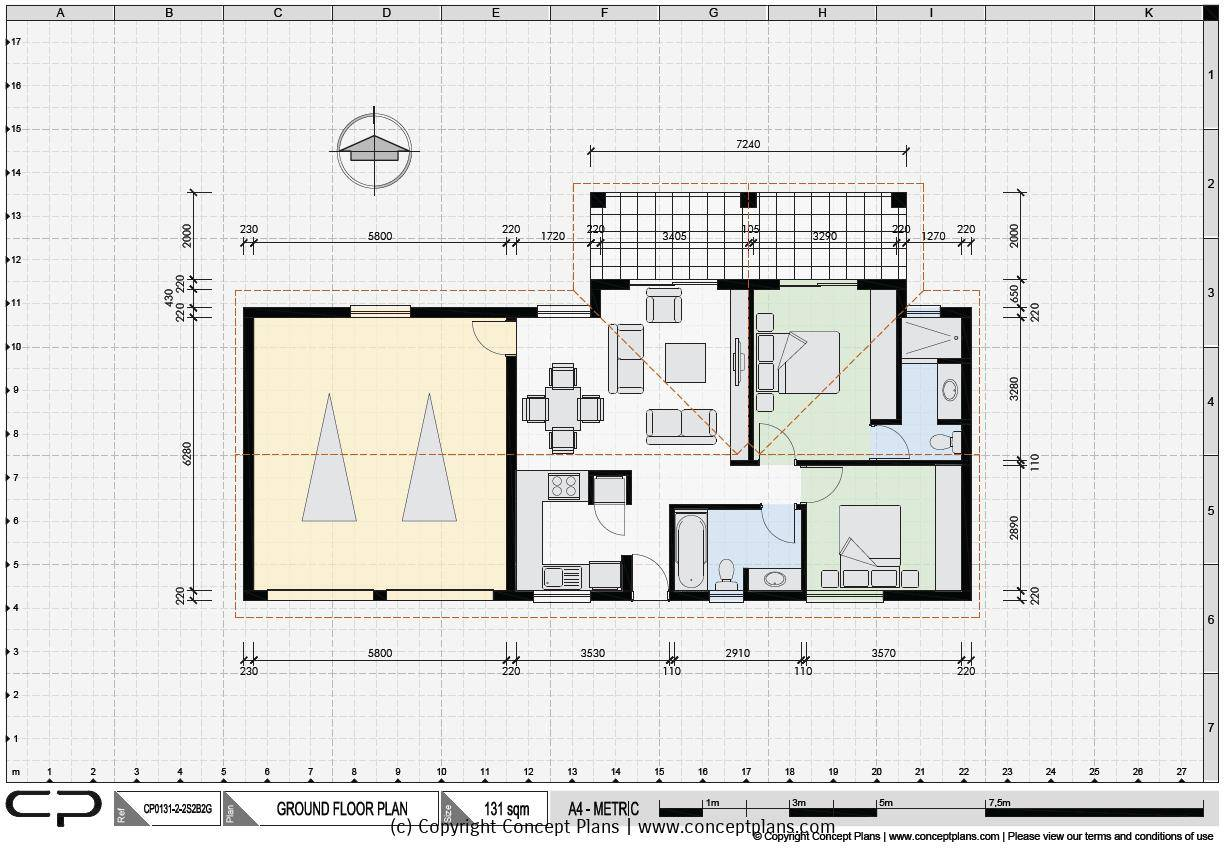 House Plan emplate Word - rts - ^