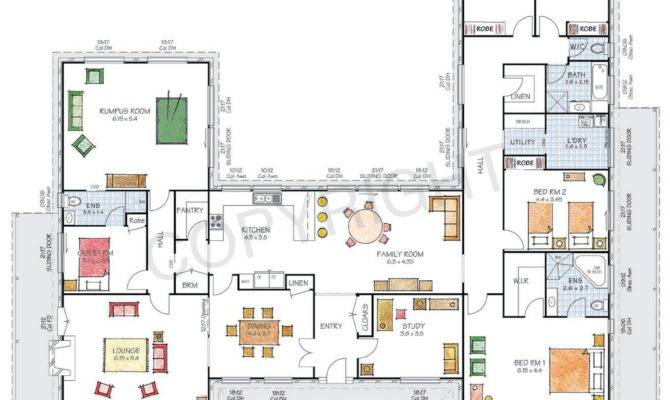 18 Perfect Images H Shaped Floor Plan House Plans 85049