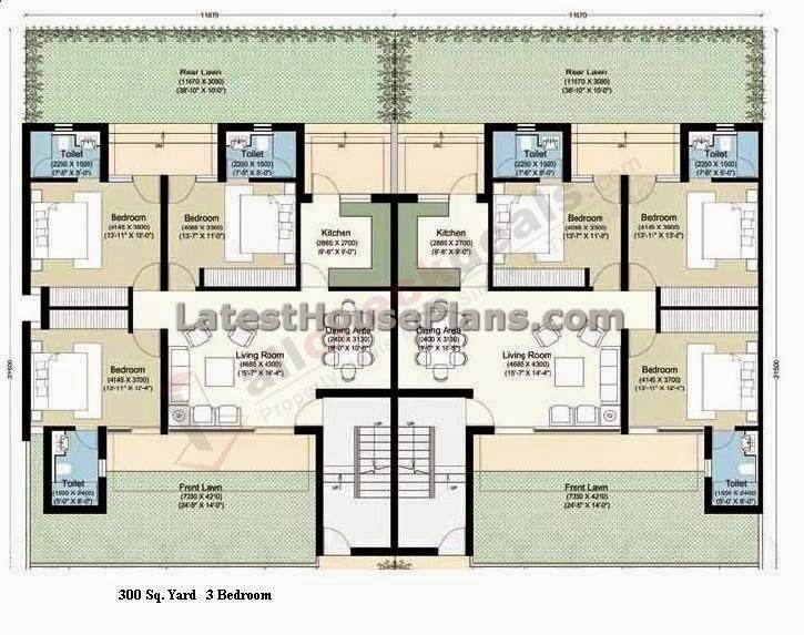 House plans with apartments attached House design ideas