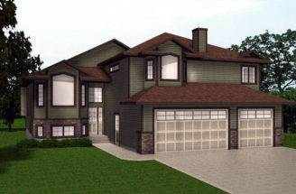 House Plans Bungalow Plan Home Ranch Level Custom
