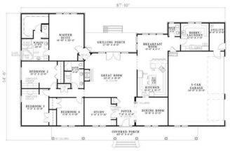 House Plans Floors Houseplans Dream Garage Floor
