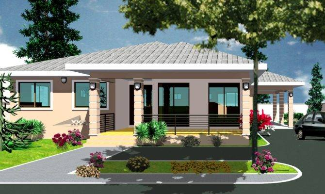 Home Plans And Designs In Ghana on ghana nigeria house plan nene
