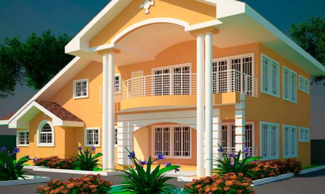 5 Bedroom House Plans GhanaHouseHome Plans Ideas Picture