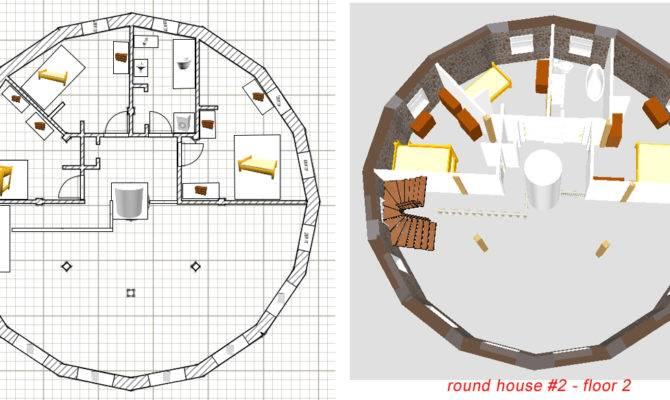 Simple Circular House Plans Simple Free Printable Images House