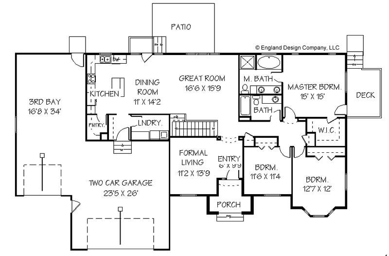 House Plans Hivewallpaper 58817 Housing Blueprints On Blueprints For Patio Homes