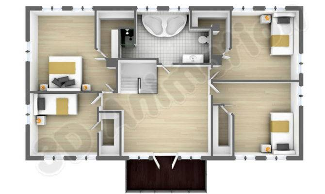 Home plan indian model