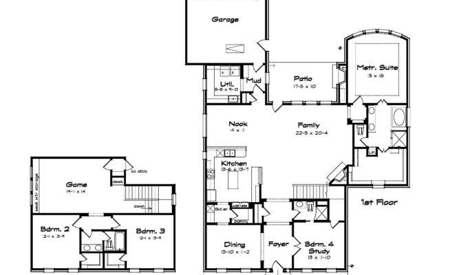 Smart Placement One Story House Plans With Large Kitchens Ideas .