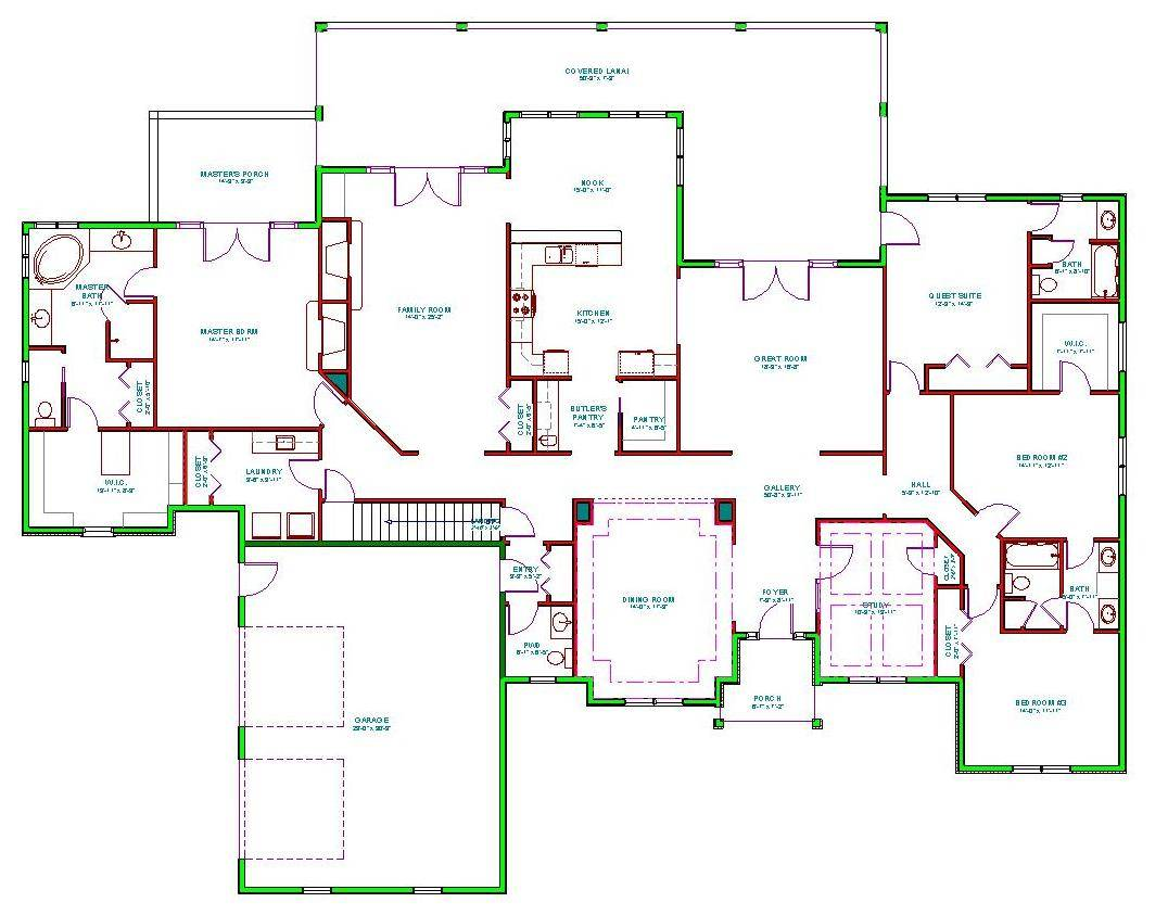 House Plans Make Elegant Homes Open Airy Floor 106192 Home Floor Plans Clayton Homes Home Floor Plan