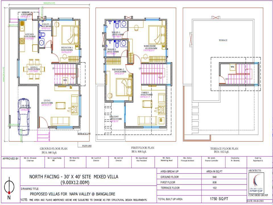 West facing house plans for 60x40 sitebuilder