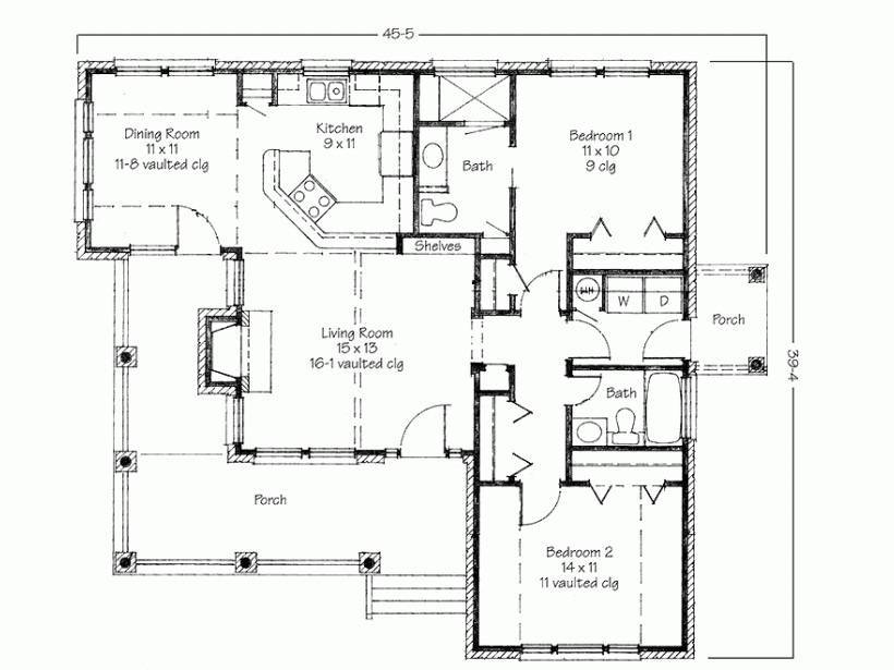 house plans porch backyard deck floor plan design_119540 home plans with decks house plans 2017 on - House Plans With Porches
