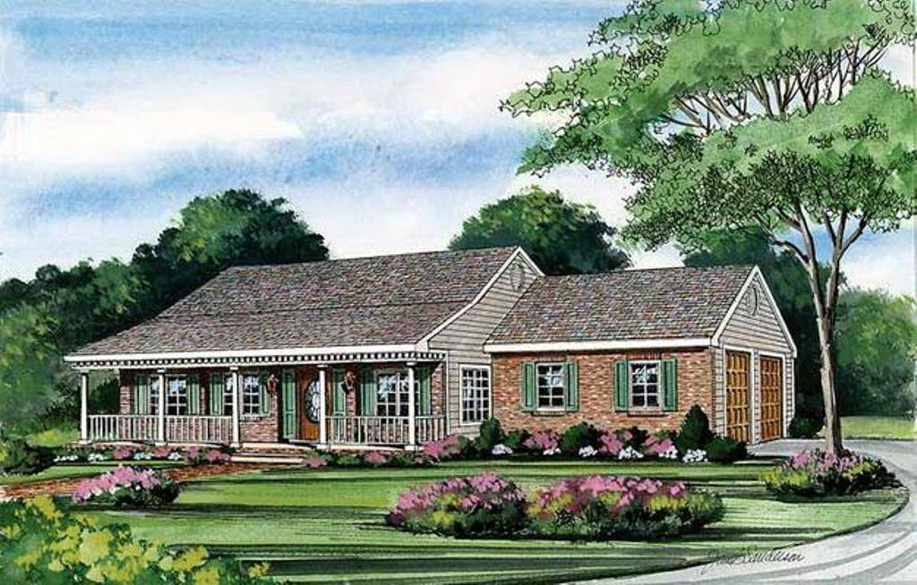 free lovely french country house plans with porches with front porch house designs