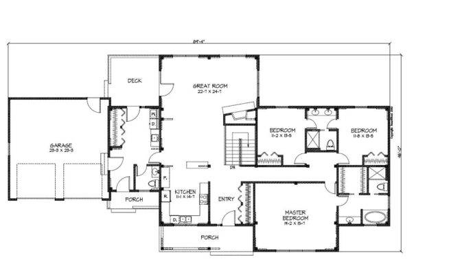 26 Perfect Images Floor Plans For Ranch Style Home House Plans