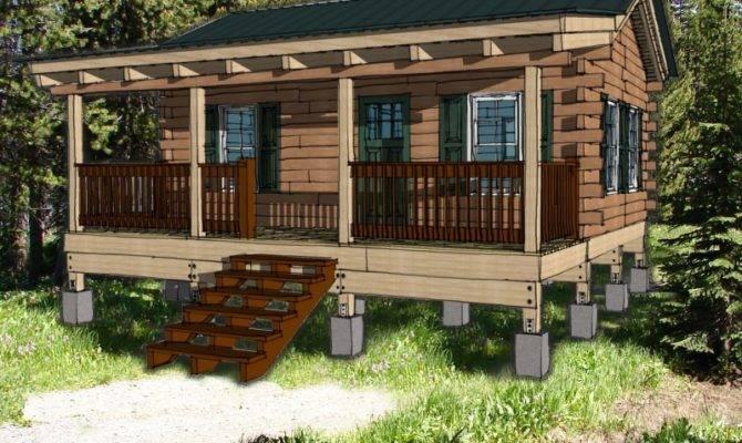 19 Wonderful 1 Bedroom Log Cabin Kits House Plans 2159