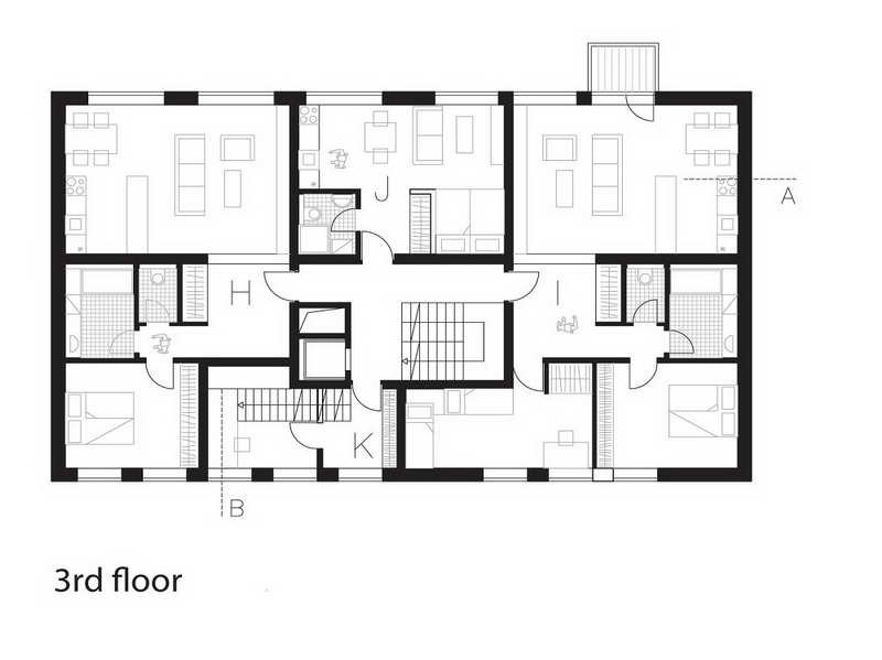 Residential home floor plans