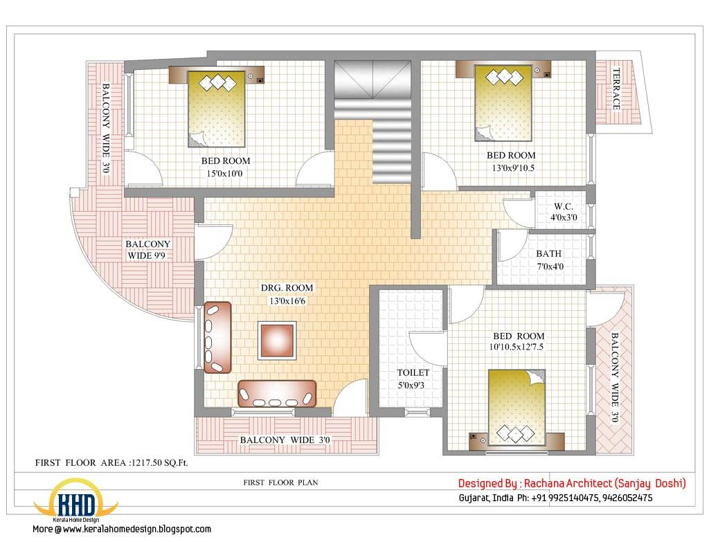 Architecture Design House In India home map – modern house