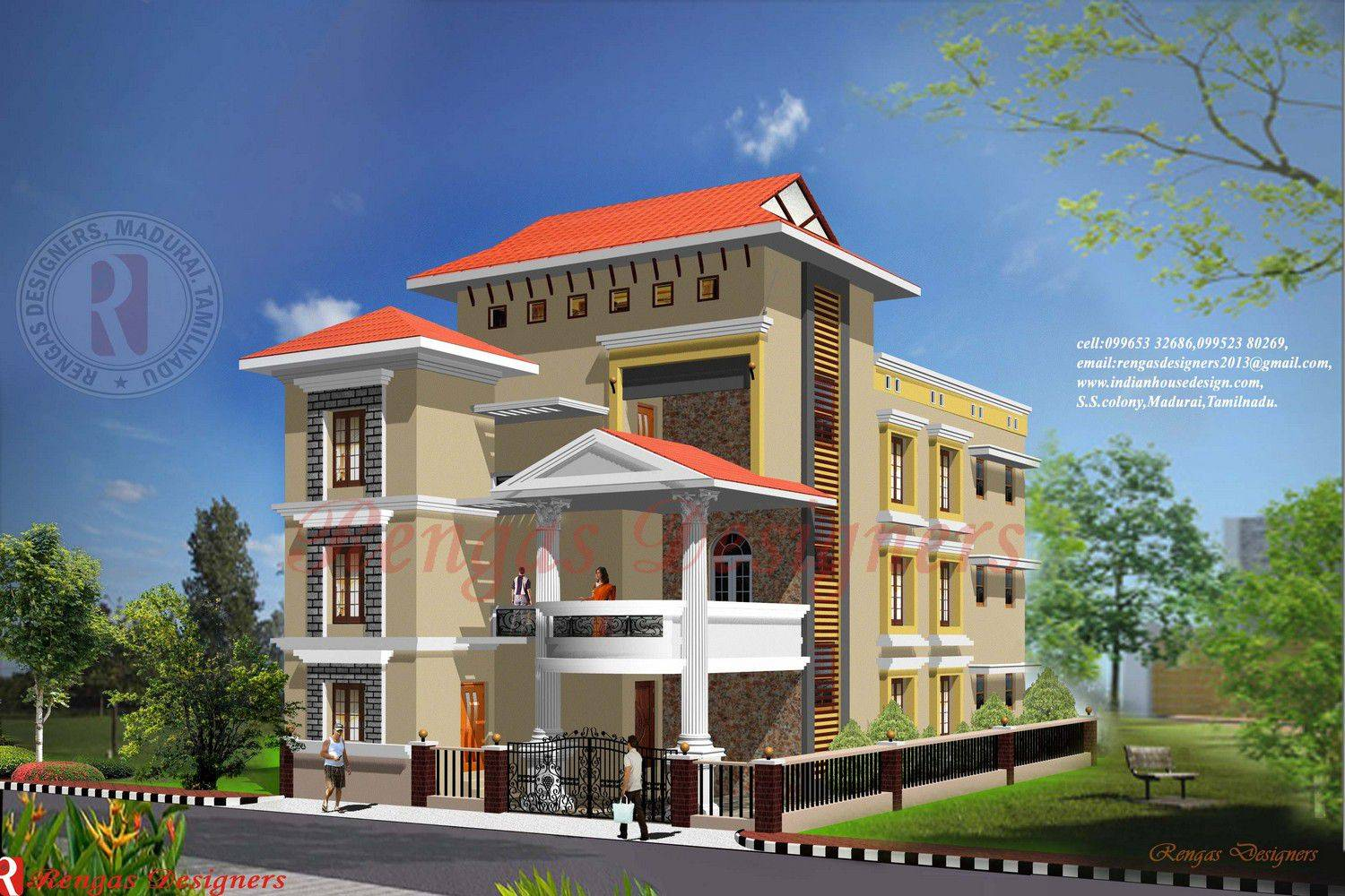 indian house design three floor buildings designs house front elevation of commercial building in india joy