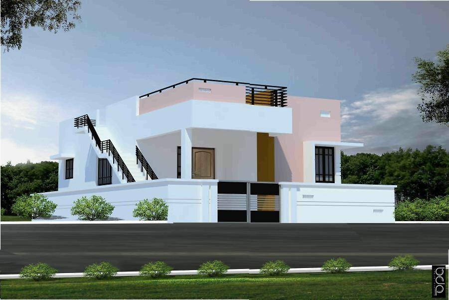 Elevation designs individual houses