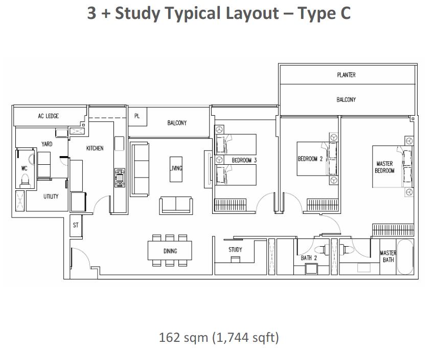 condo floor plans beachside 3 4 bedrooms house design yacht club on the intracoastal 5 floorplans