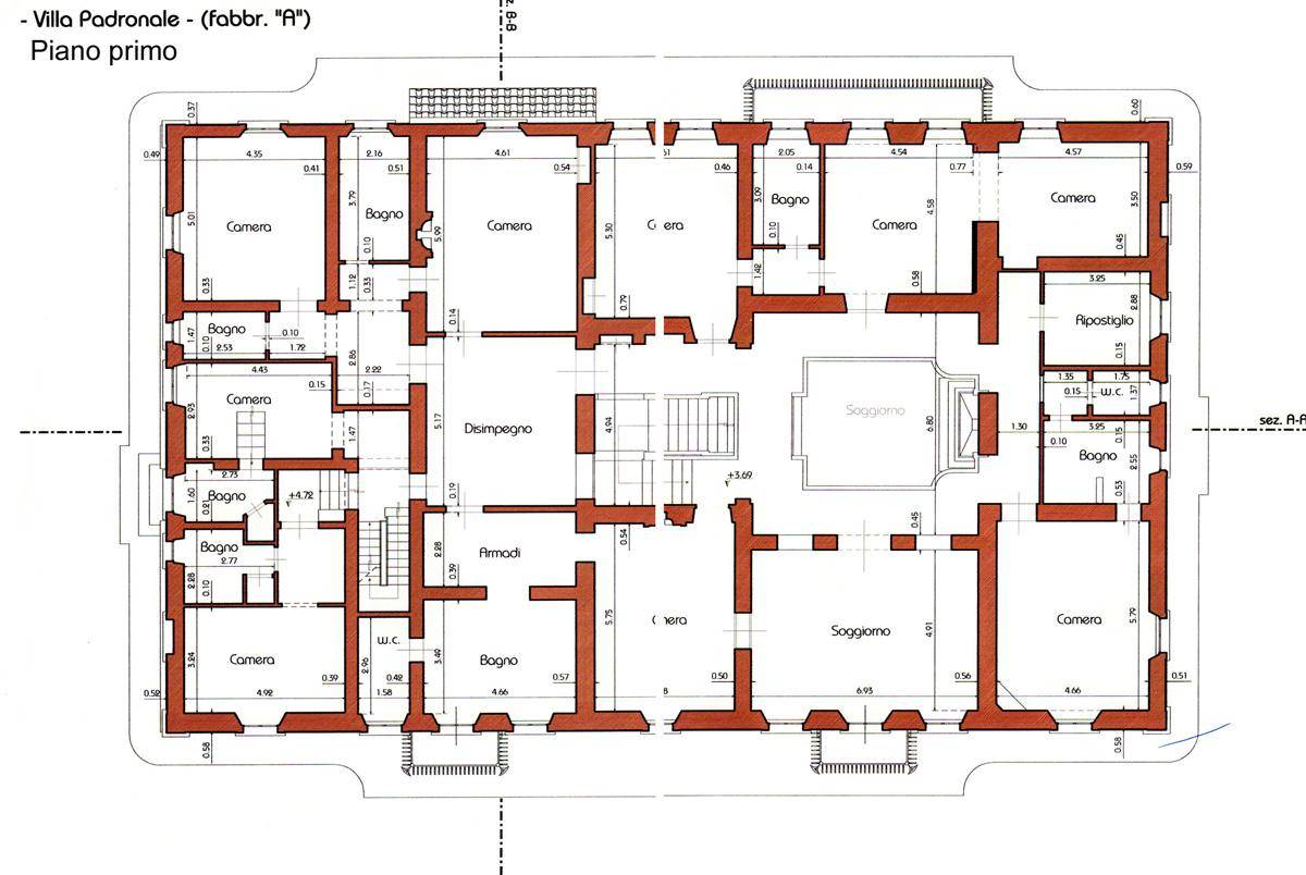 Tuscany italy house plans - House plans