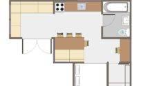 Joseph Sandy Small House Floor Plan
