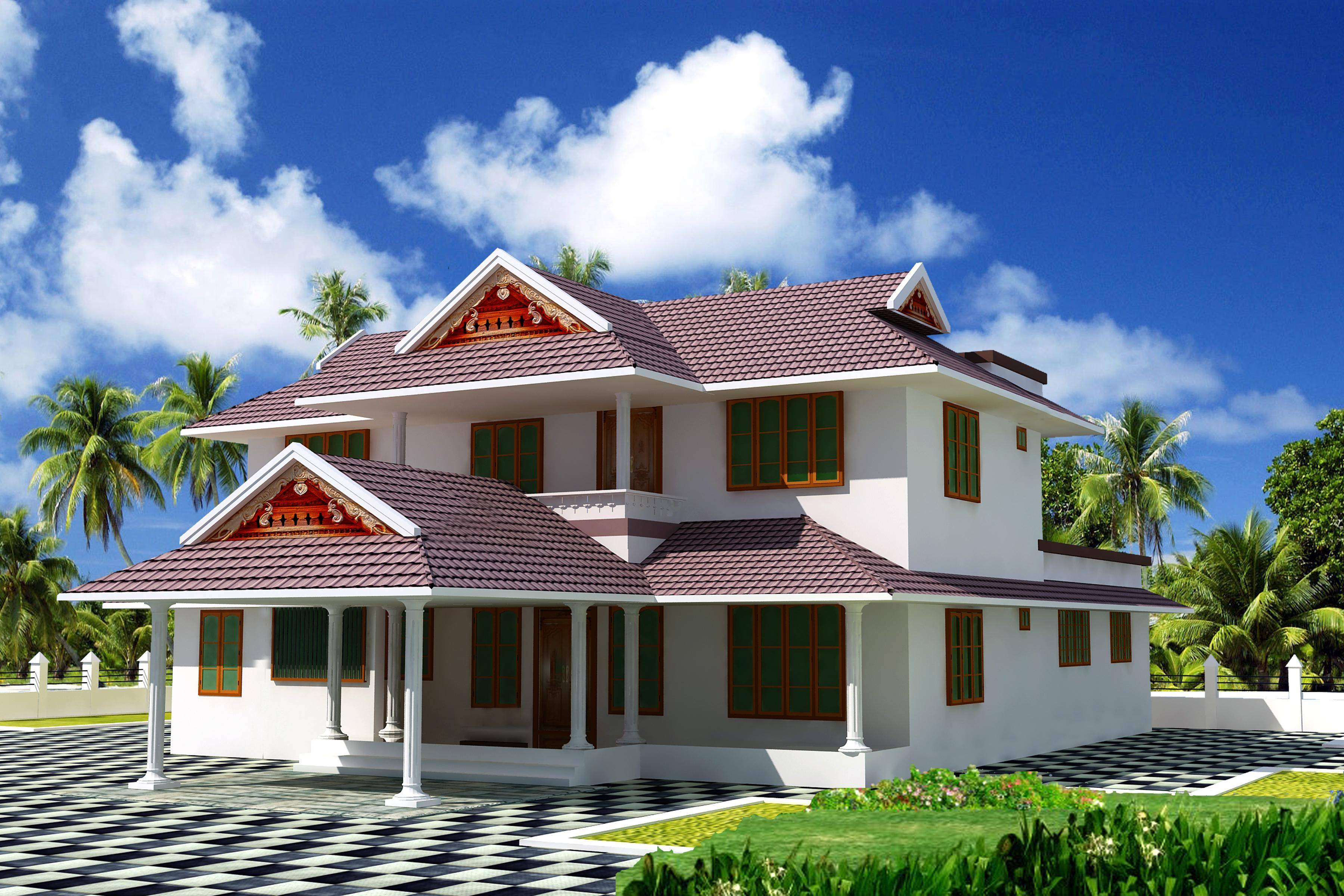 Picture gallery of kerala houses