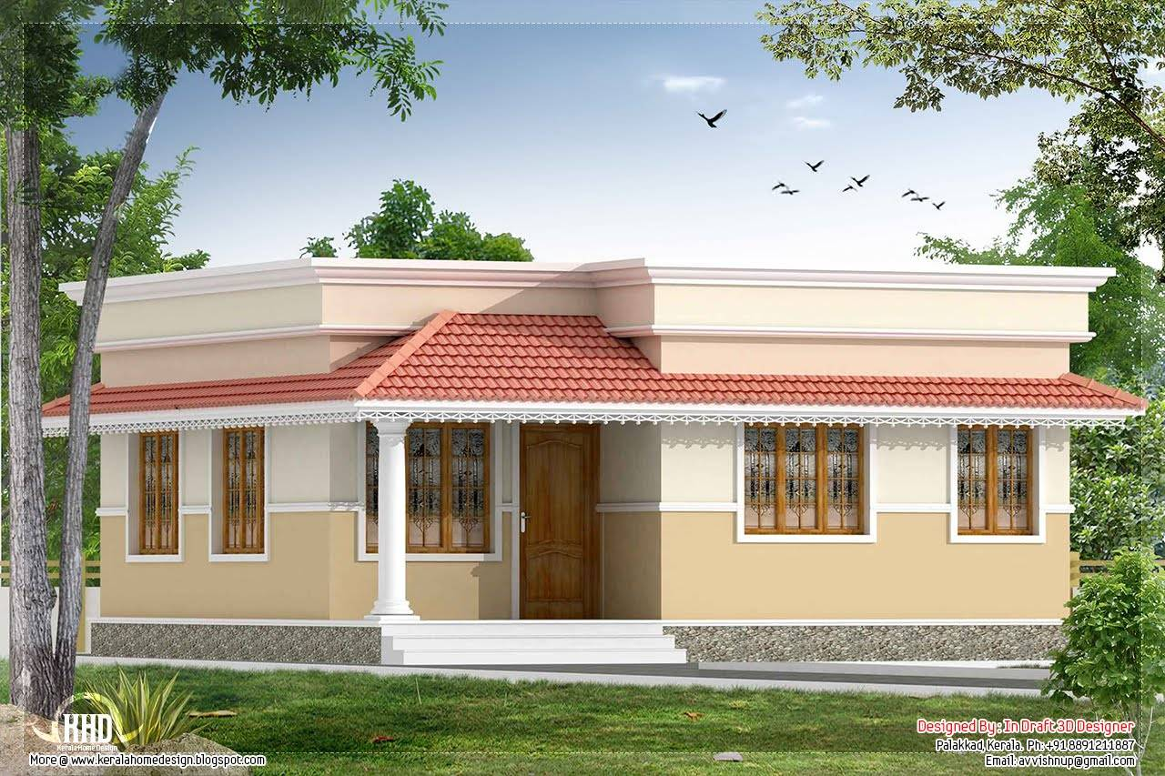 Brilliant Kerala Style Bedroom Small Villa Home Design House Plans 21823 Largest Home Design Picture Inspirations Pitcheantrous