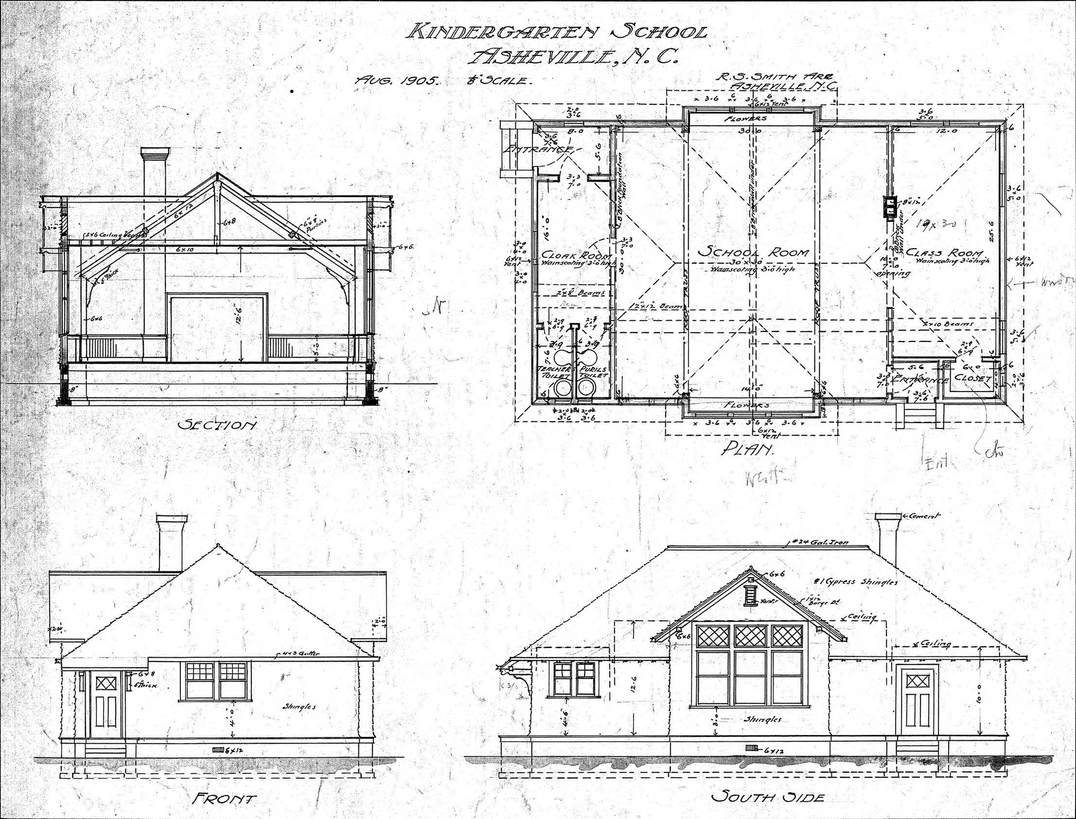 Section Elevation Plan
