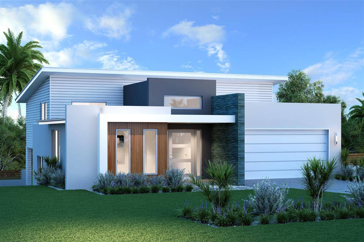 Laguna split level design ideas home designs sydney west for Home designs sydney