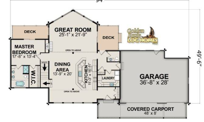 lake cabin floor plans lakehouse plan - Lake House Plans