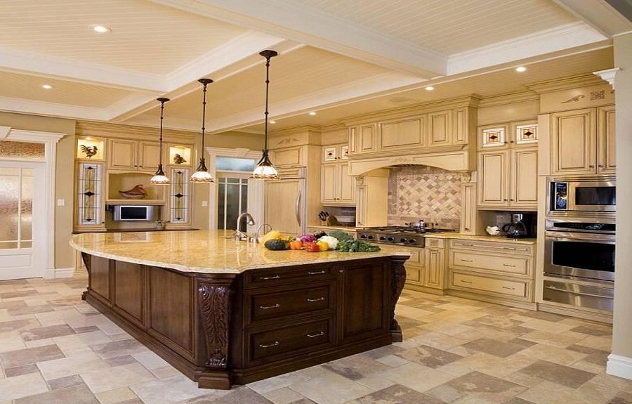 Large Kitchen Luxury Design Ideas House Plans 65594