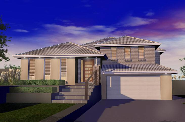 level home designs custom split fowler homes sydney nsw house plans