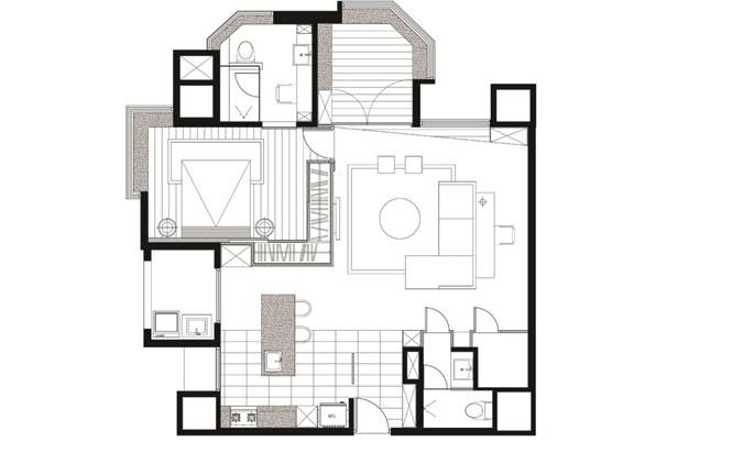Layout of house design