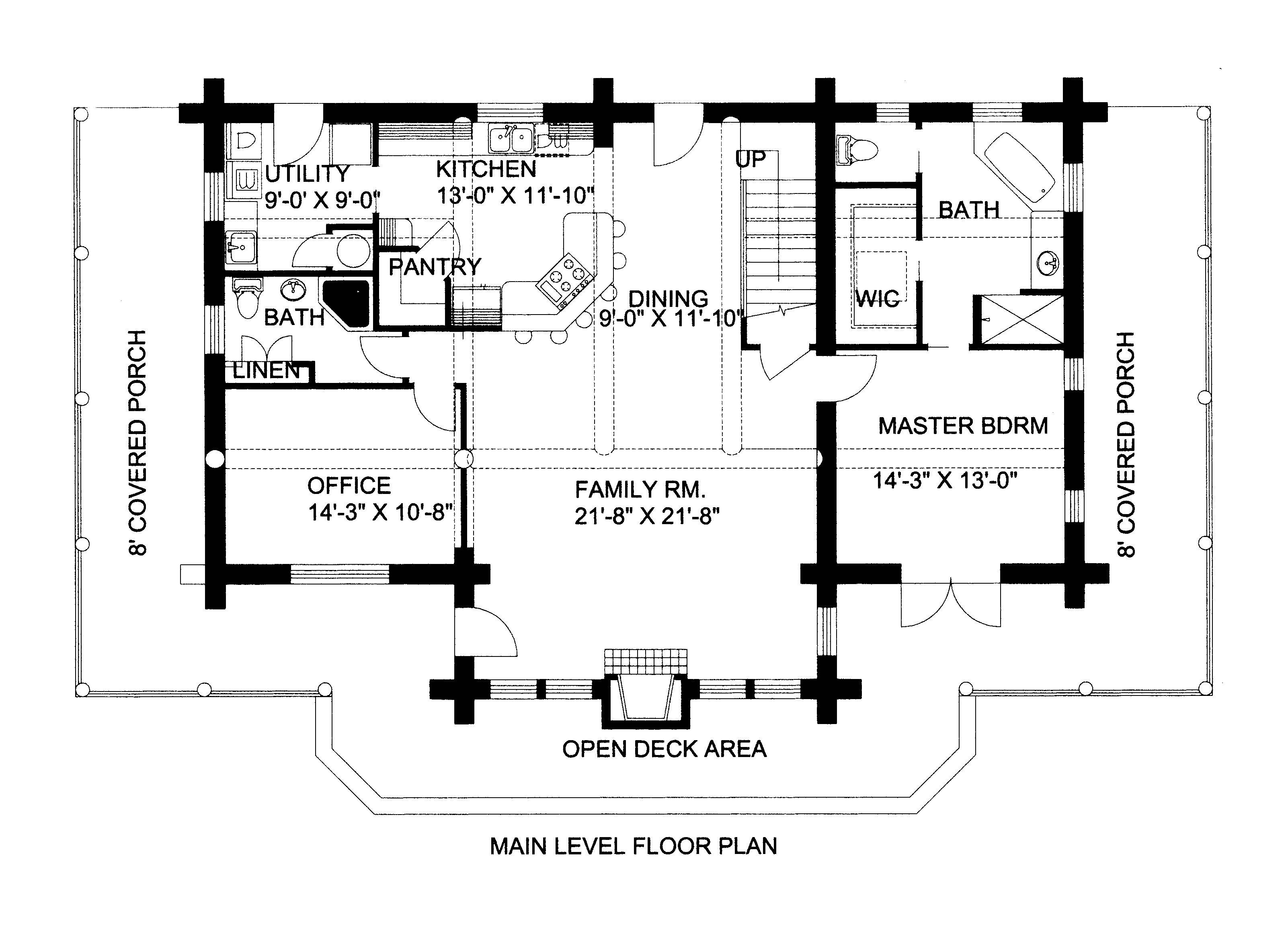 Log Cabins With Lofts Floor Plans