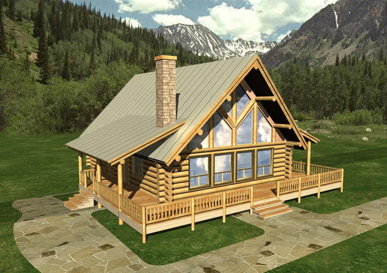 Log Home Design Coast Mountain Homes House Plans   Log home house plans  designs. One Story Plans Wood House Log Homes LLC Log Home Plans Log  Log