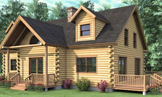Log Home Floor Plan Bedroom Cape Style. 21 Surprisingly 4 Bedroom Log Homes   House Plans   57304