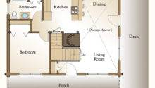 Log Home Floor Plan Bedroom Real Homes
