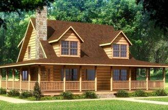 Log Home Plans Beaufort Plan Homes House