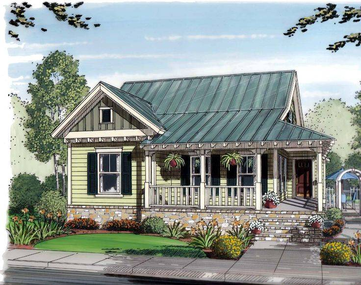 Plans for small cottage style homes