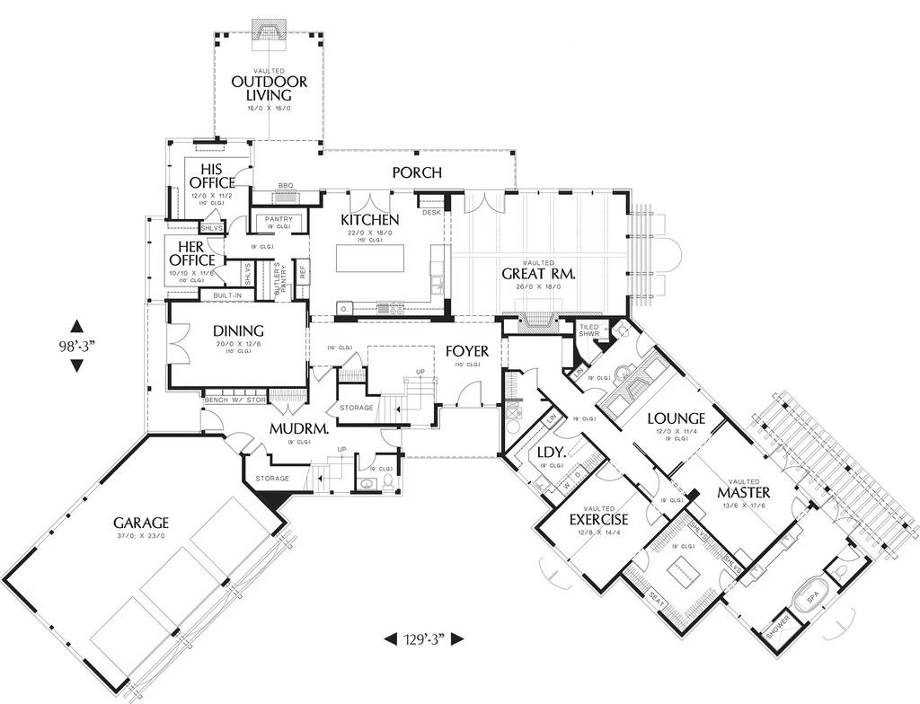 5 bedroom ranch style house plans descargas mundiales com luxury bedroom house plans ranch prevnav nextnav image 6 of 21 click image to enlarge