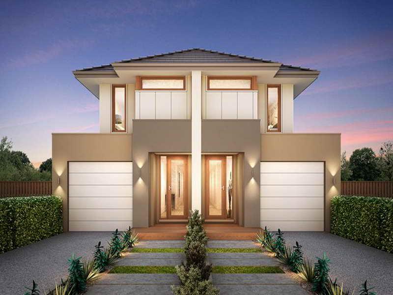 Elegant Duplex Home Design Ideas